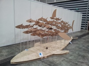 Fascinating art piece from Shark Savers