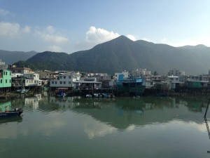 The houses we pass by in Tai O